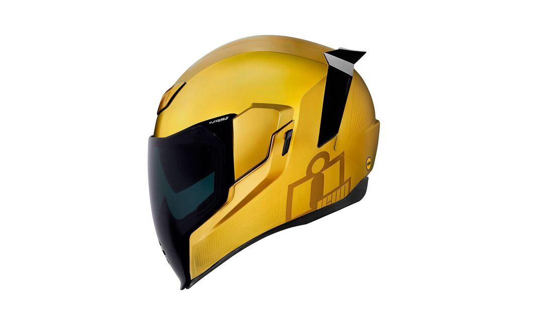 Icon Helme 2021 Airflite MIPS Jewel Gold