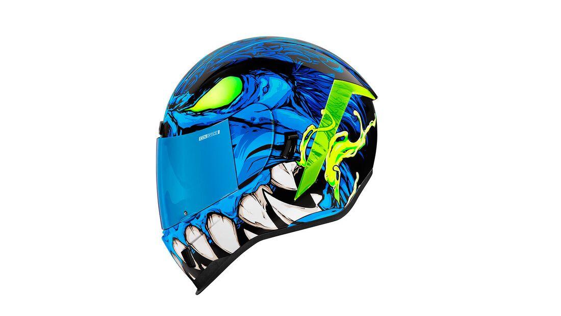 Icon Helme 2021 Airform Manikr Blue