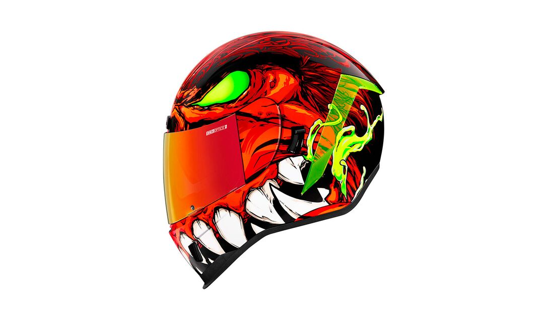 Icon Helme 2021 Airform Manikr Red