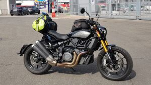 Indian FTR 1200 Dauertest
