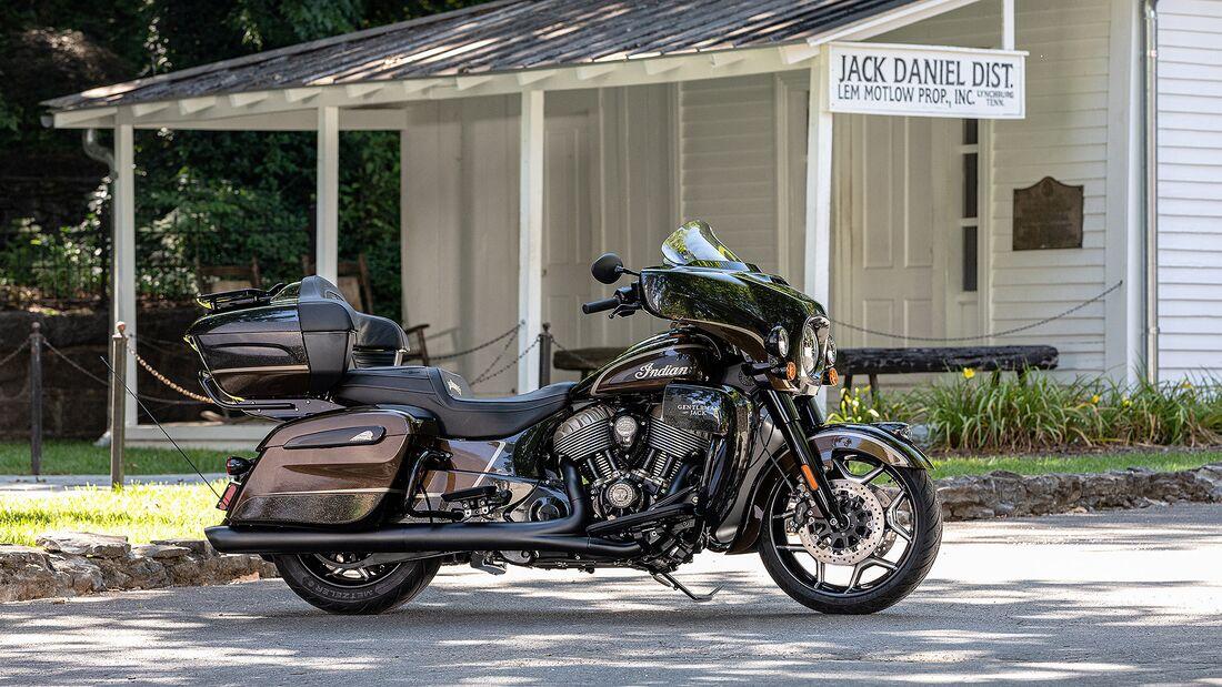 Indian Jack Daniel's Limited Edition Indian Roadmaster Dark Horse