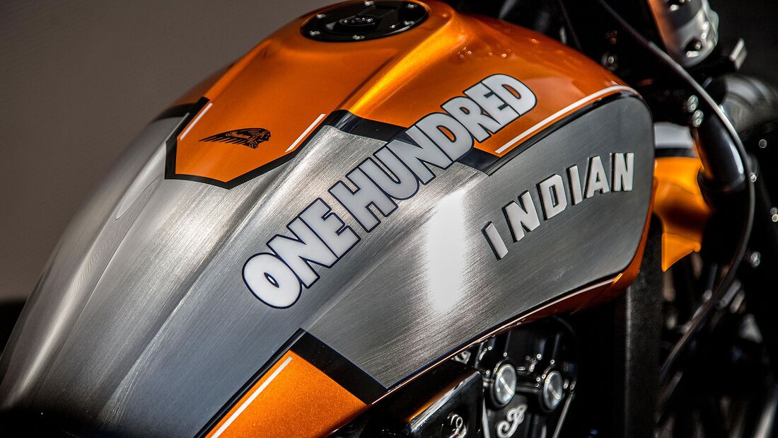 Indian Motorcycle Metz Scout Hundred