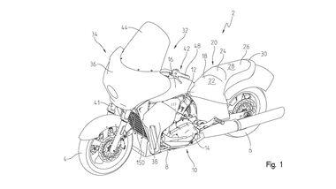 Indian Patent 2020 wassergekühlter Tourer