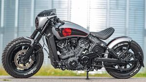 Indian Scout Bobber Newchurch Three von Wunderkind-Custom.