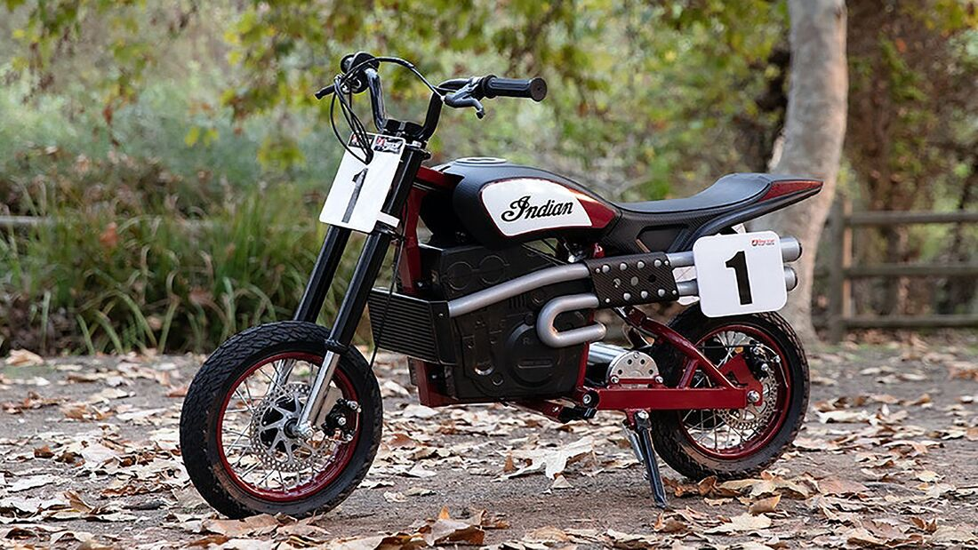 Indian eFTR Kindermotorrad