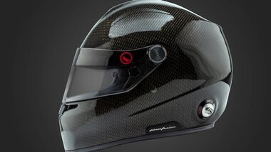 Integralhelm mit Wasserkühlung von Pininfarina und Roux Helmets