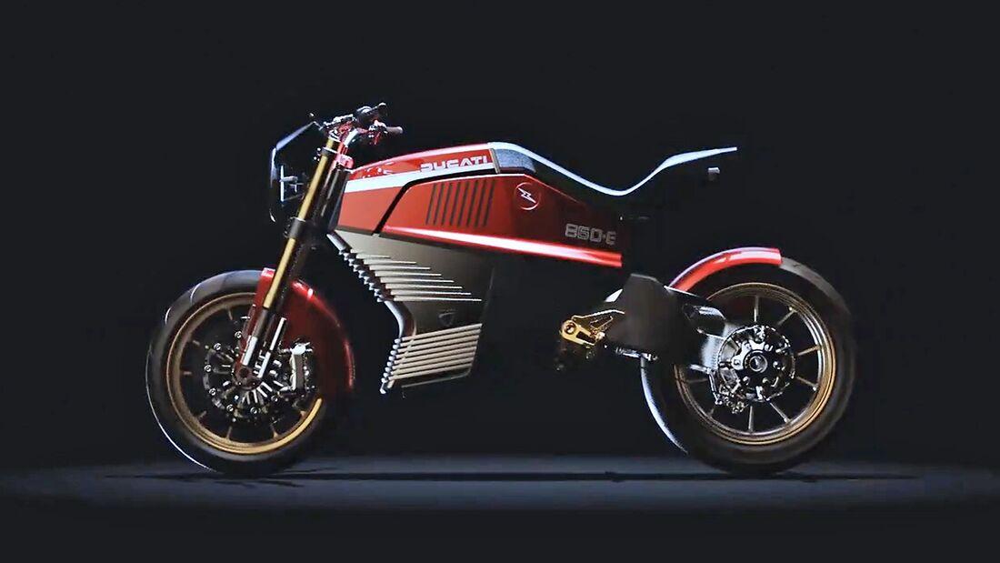 Italdesign Ducati 860-E Studie