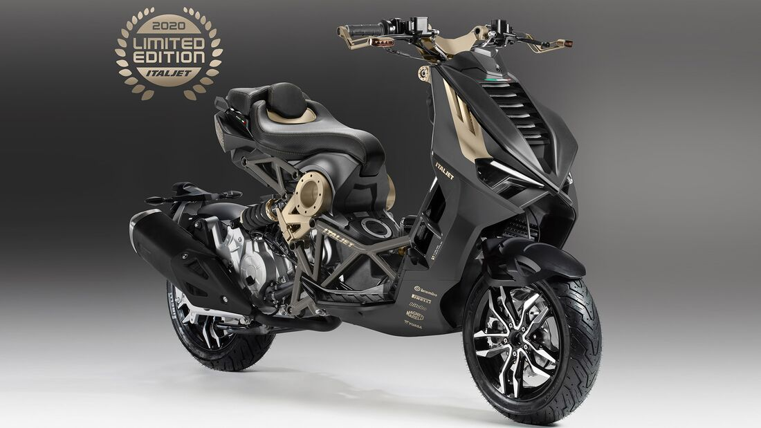 Italjet Dragster - Limited Edition.