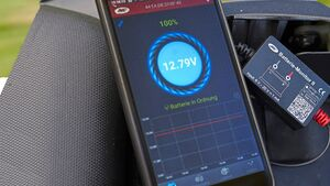 JMP Batterie Monitor II: Bluetooth-Batteriemonitor und App.