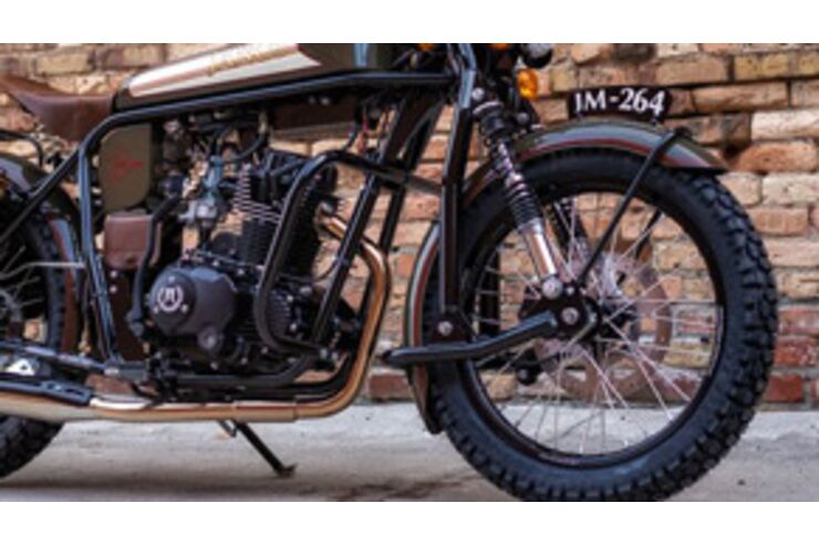 Janus Halycon 450 2021: Motorrad im Vintagelook mit Uralt-Technik