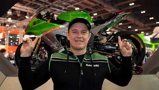 John McGuinness Kawasaki