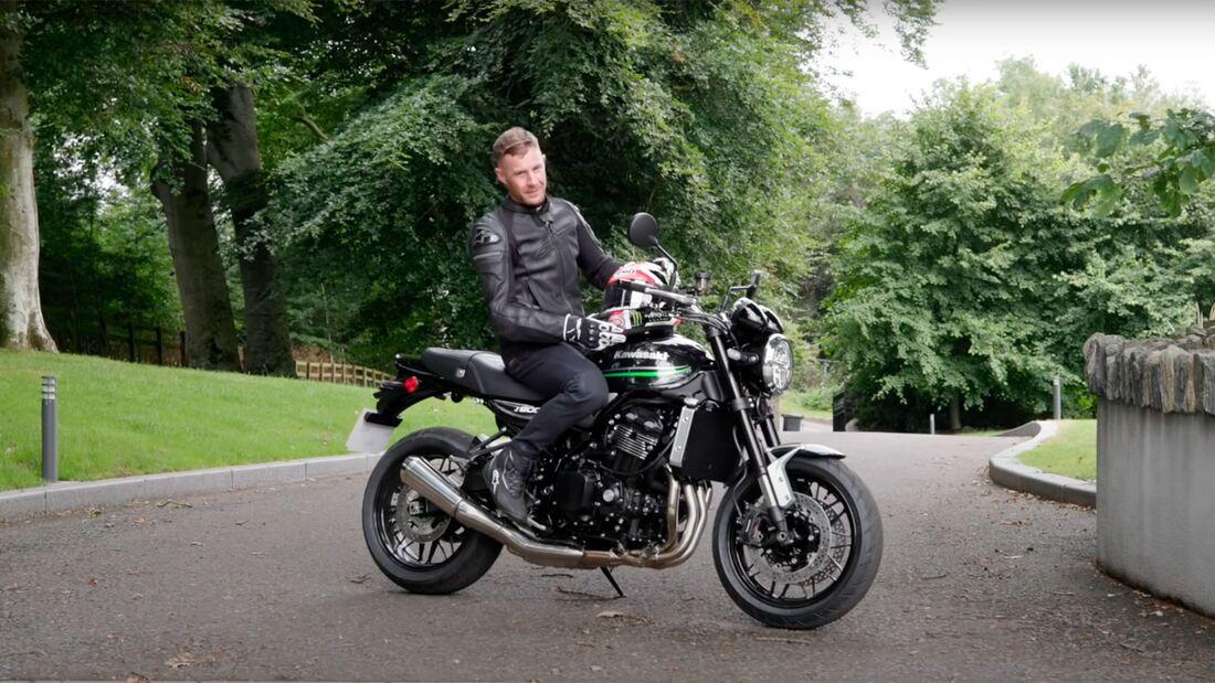 Jonathan Rea Motorradführerschein erstes Motorrad Kawasaki Z 900 RS