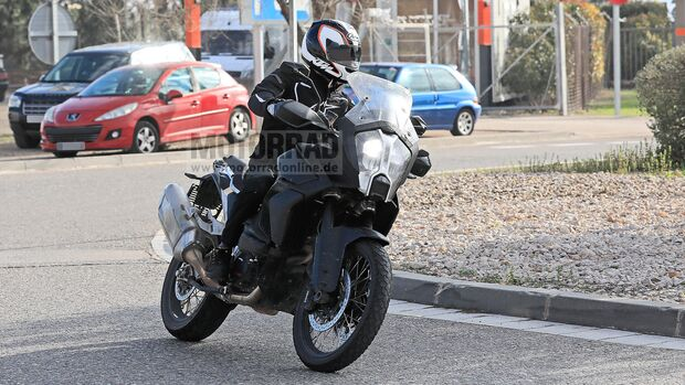 KTM 1290 Super Adventure Erlkönig