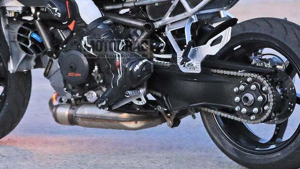 KTM 1290 Super Duke GT Erlkönig