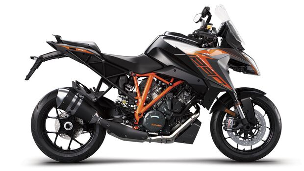 KTM 1290 Super Duke GT MY19 Black