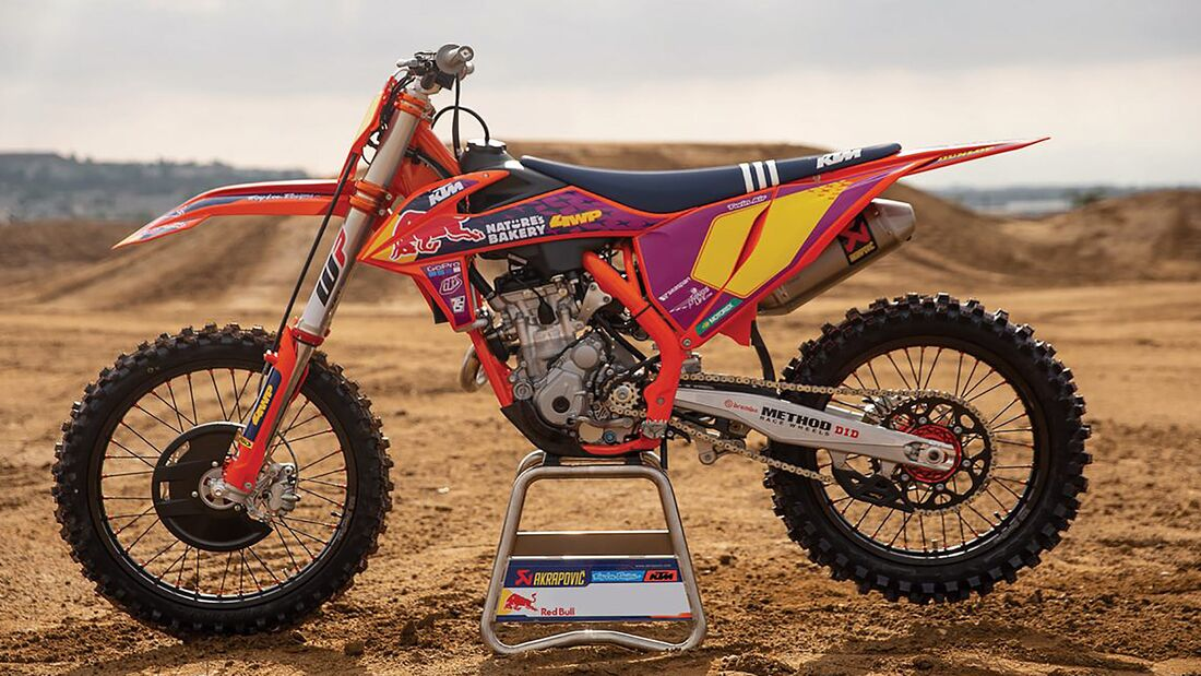 KTM 250 SX-F TROY LEE DESIGNS