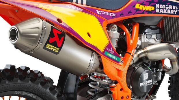 KTM 250 SX-F TROY LEE DESIGNS