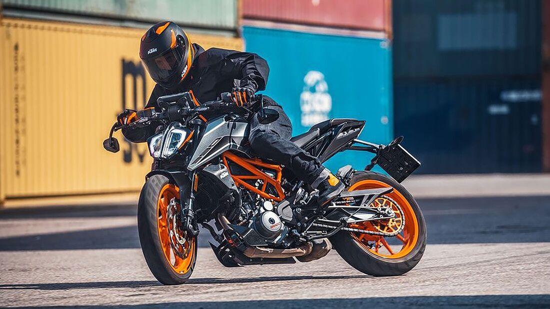 KTM 390 Duke Modelljahr 2021