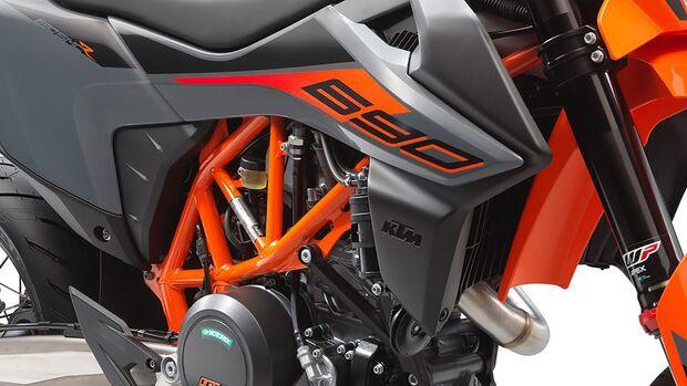 KTM 690 SMC R Modelljahr 2021