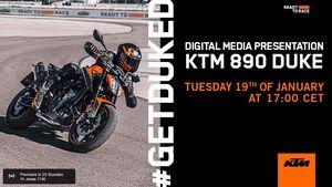 KTM 890 Duke Premiere Teaser