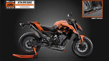 KTM 890 Duke Tech 3 Edition Frankreich