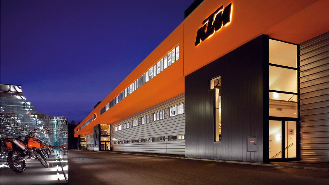 KTM Fabrik Mattighofen