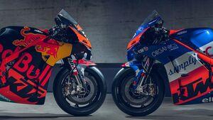 KTM-MotoGP-Teampräsentation 2020.