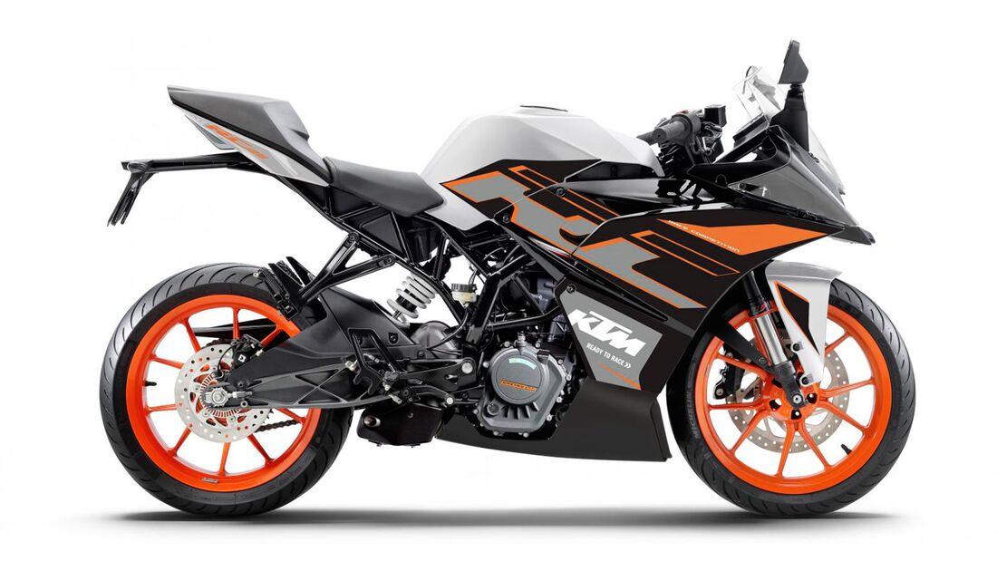 KTM RC 125 Indien Dark Galvano