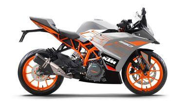 KTM RC 125 Indien Orange 2021