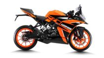 KTM RC 125 Indien Orange 2021