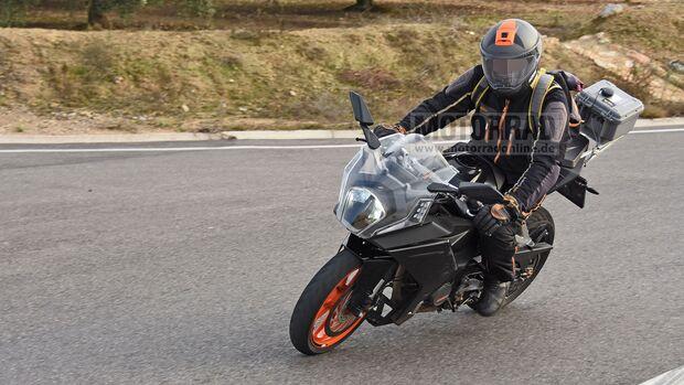 KTM RC390 Erlkönig