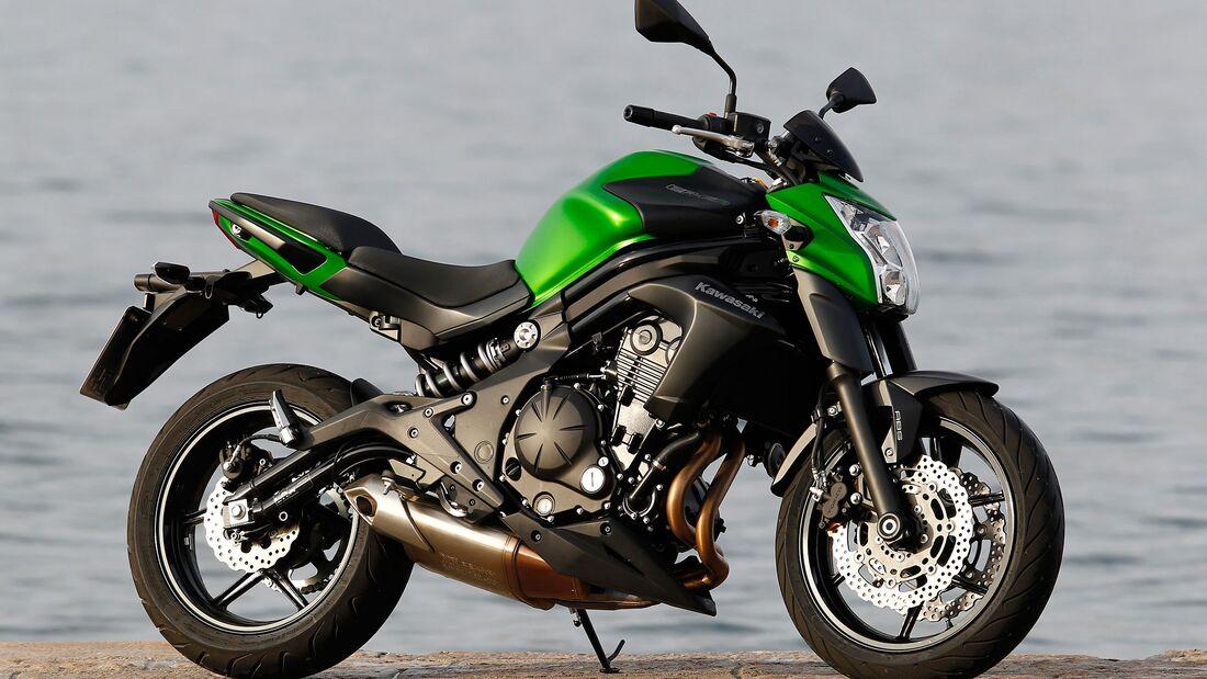 Kawasaki ER-6n und ER-6f beliebteste Kawasaki-Modelle von 2010 bis 2019