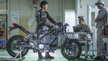 Kawasaki Electric Motorcycle Project.