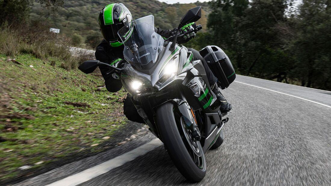Kawasaki Ninja 1000 SX Fahrbericht