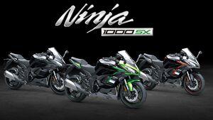 Kawasaki Ninja 1000 SX Modelljahr 2021