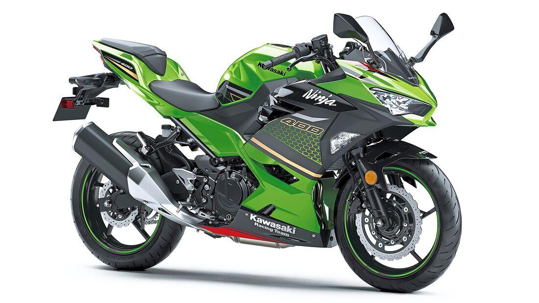 Kawasaki Ninja 400.