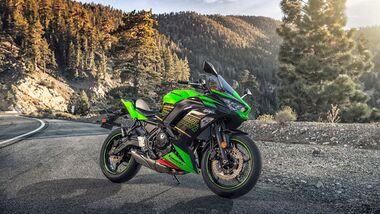 Kawasaki Ninja 650 beliebteste Kawasaki-Modelle von 2010 bis 2019