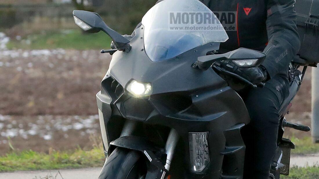 Kawasaki Ninja H2 SX Erlkönig