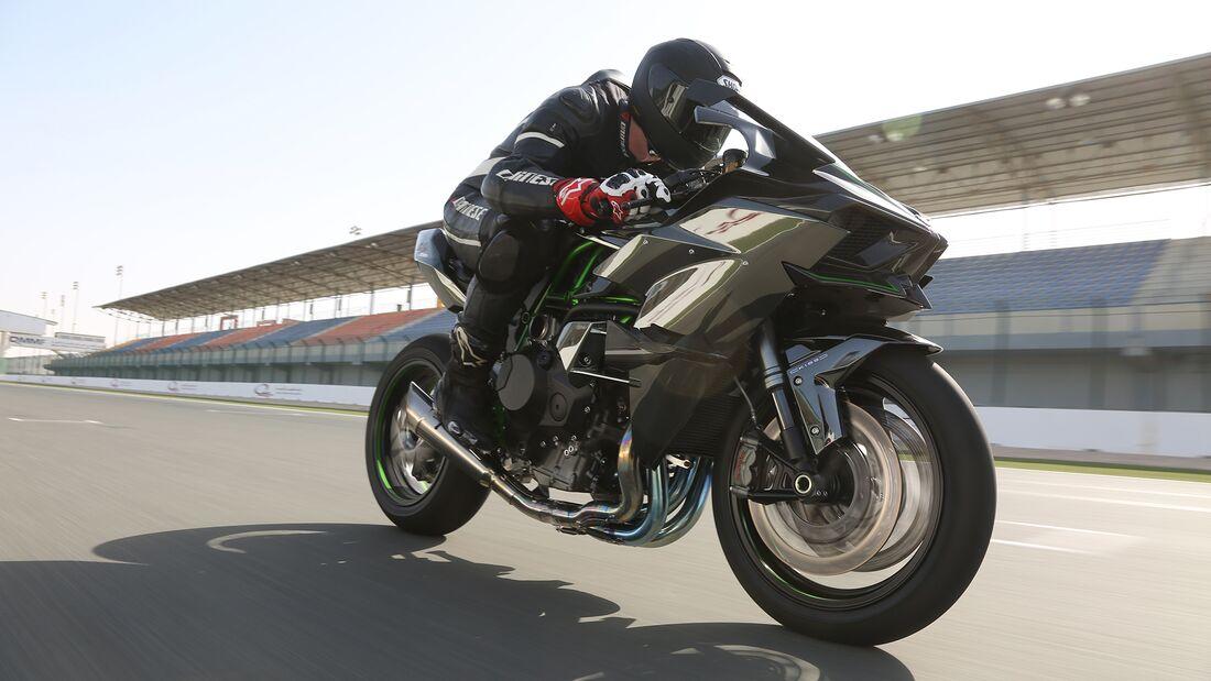 Kawasaki Ninja H2R.