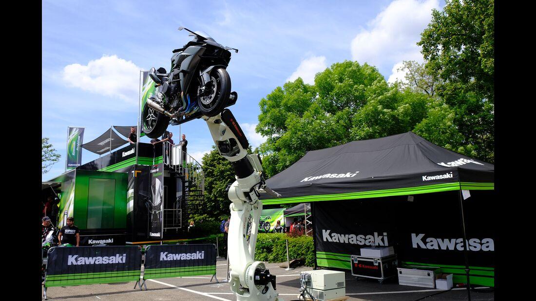Kawasaki-Roboter Kawasaki Ninja H2
