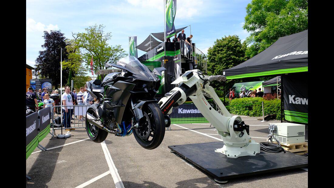 Kawasaki-Roboter Kawasaki Ninja H7