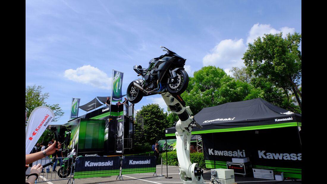 Kawasaki-Roboter Kawasaki Ninja H8