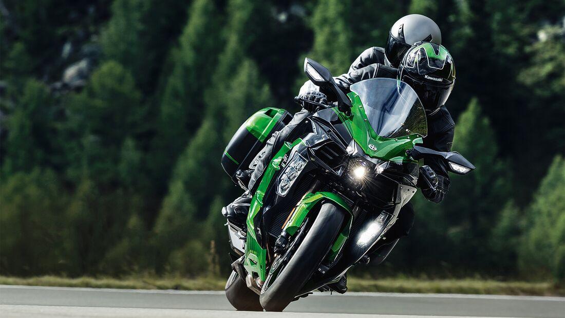 Kawasaki Sparaktion 2020: Tourer-Paket.