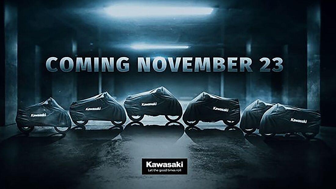 Kawasaki Teaser Neuheiten 2021
