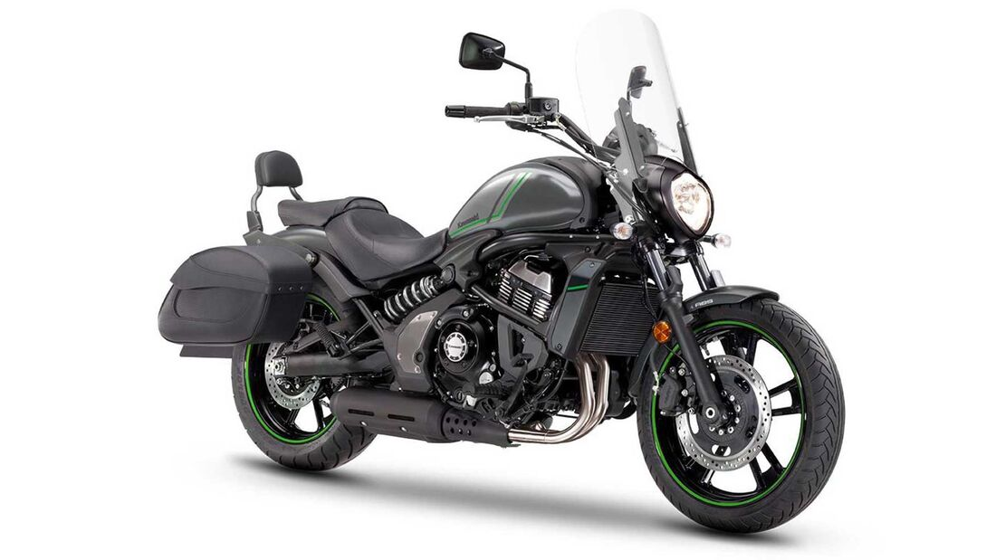 Kawasaki Vulcan S Sport Performance und Tourer