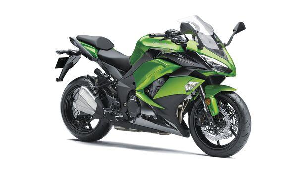 Kawasaki Z 1000 SX beliebteste Kawasaki-Modelle von 2010 bis 2019