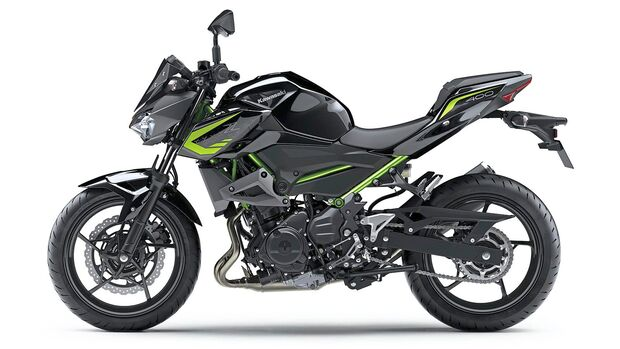 Kawasaki Z 400.