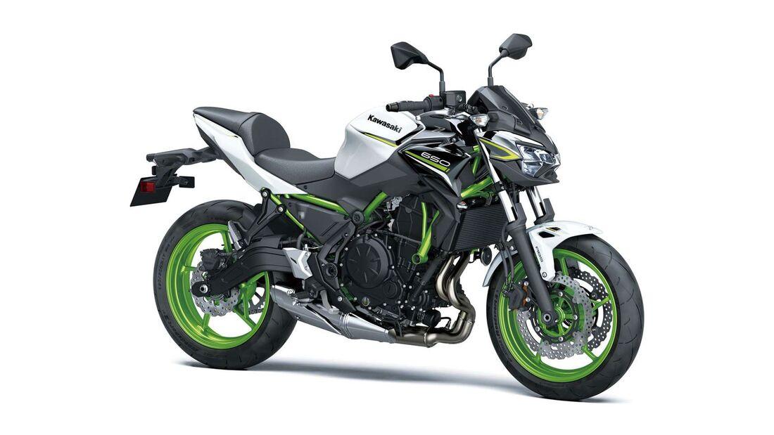 Kawasaki Z 650 Modelljahr 2021