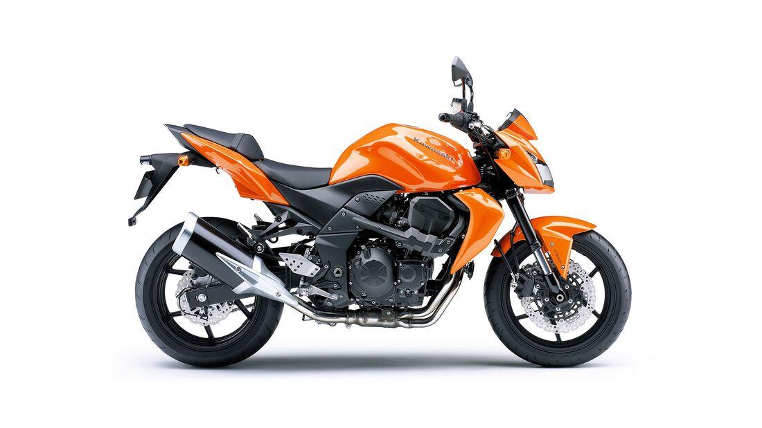 Kawasaki Z 750 und Z 750 S beliebteste Kawasaki-Modelle von 2010 bis 2019