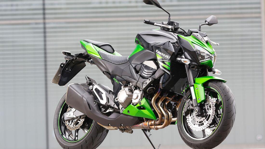Kawasaki Z 800 beliebteste Kawasaki-Modelle von 2010 bis 2019